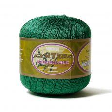 Пряжа Камтекс Вискозный шелк блестящий, цвет № 109 (Ярко-зеленый)