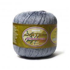 Пряжа Камтекс Вискозный шелк блестящий, цвет № 169 (Серый)