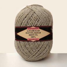 Пряжа Алтайская натуральная шерсть 04 (Натуральный)