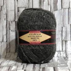 Пряжа Алтайская натуральная шерсть 05 (Серый)