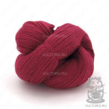 Пасма (Карачаевская пряжа) цвет № 12 (Вишня)