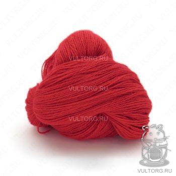 Пасма (Карачаевская пряжа) цвет № 27 (Красный)