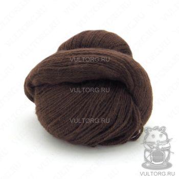 Пасма (Карачаевская пряжа) цвет № 53 (Темный шоколад)
