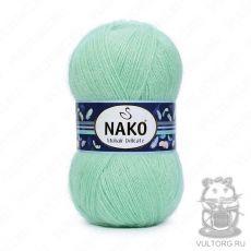 Пряжа Nako Mohair Delicate, цвет № 3415 (Яркая мята)