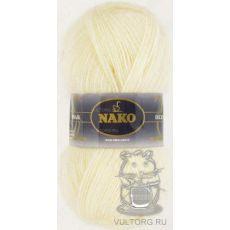 Пряжа Nako Mohair Delicate, цвет № 6103 (Кремовый)