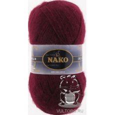 Пряжа Nako Mohair Delicate, цвет № 6110 (Свекольный)