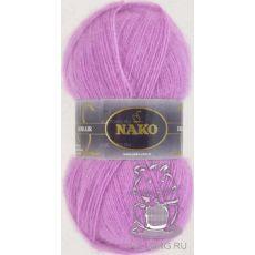Пряжа Nako Mohair Delicate, цвет № 6113 (Светло-фиолетовый)