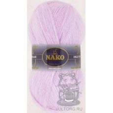 Пряжа Nako Mohair Delicate, цвет № 6116 (Светло-сиреневый)