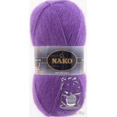 Пряжа Nako Mohair Delicate, цвет № 6118 (Фиолетовый)