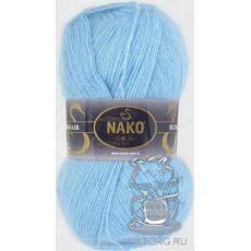 Пряжа Nako Mohair Delicate, цвет № 6119 (Светло-голубой)
