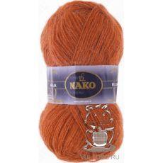 Пряжа Nako Mohair Delicate, цвет № 6136 (Терракот)