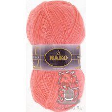 Пряжа Nako Mohair Delicate, цвет № 6138 (Лосось)