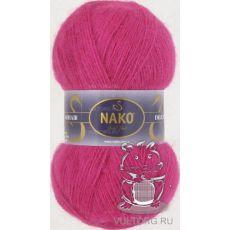 Пряжа Nako Mohair Delicate, цвет № 6141 (Ярко-розовый)