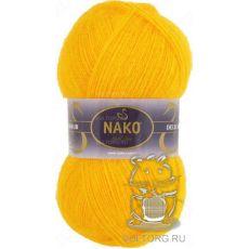 Пряжа Nako Mohair Delicate, цвет № 6142 (Желтый)