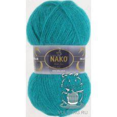 Пряжа Nako Mohair Delicate, цвет № 6143 (Бирюза)