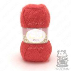Пряжа Paris Nako, цвет № 11271 (Гранатово-красный)