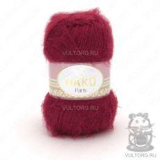 Пряжа Paris Nako, цвет № 3641 (Караминно-красный)