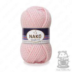 Пряжа Nako Spaghetti, цвет № 10639 (Светло-розовый)