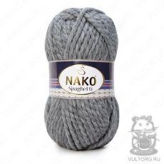 Пряжа Nako Spaghetti, цвет № 23625 (Серый)