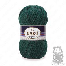 Пряжа Nako Spaghetti, цвет № 3444 (Зеленый)