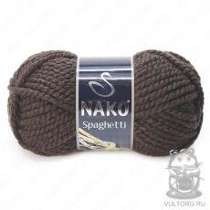 Пряжа Nako Spaghetti, цвет № 4987 (Темно-бежевый)