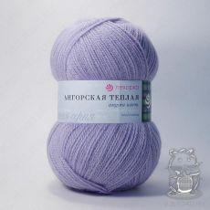 Пряжа Пехорка Ангорская теплая, цвет № 25 (Кристалл)