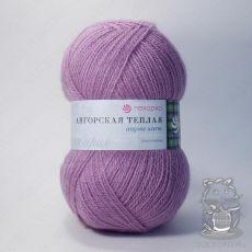 Пряжа Пехорка Ангорская теплая, цвет № 29 (Розовая сирень)