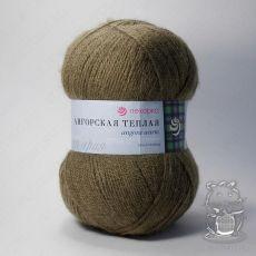 Пряжа Пехорка Ангорская теплая, цвет № 478 (Защитный)