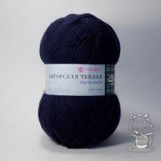 Пряжа Пехорка Ангорская теплая, цвет № 571 (Синий)