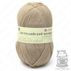 Пряжа Австралийский меринос Пехорка, цвет № 337 (Лама)