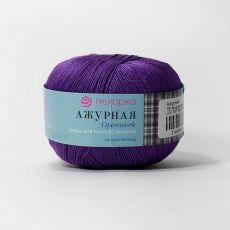 Пряжа Пехорка Ажурная, цвет № 78 (Фиолетовый)