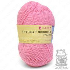 Пряжа Детская новинка Пехорка, цвет № 11 (Ярко-розовый)