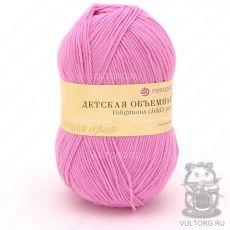 Пряжа Детская объёмная Пехорка, цвет № 76 (Розовый бутон)