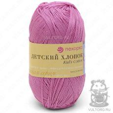Пряжа Детский хлопок Пехорка, цвет № 11 (Ярко-розовый)