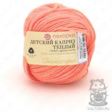 Пряжа Пехорка Детский каприз тёплый, цвет № 1125 (Розовый коралл)