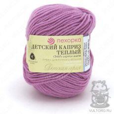 Пряжа Пехорка Детский каприз тёплый, цвет № 516 (Персидская сирень)