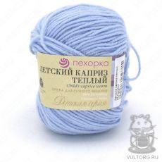 Пряжа Детский каприз тёплый Пехорка, цвет № 05 (Голубой)