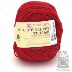 Пряжа Детский каприз тёплый Пехорка, цвет № 06 (Красный)