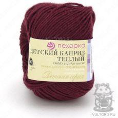 Пряжа Детский каприз тёплый Пехорка, цвет № 07 (Бордо)