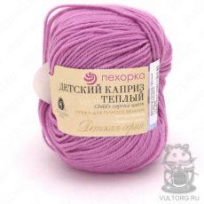 Пряжа Детский каприз тёплый Пехорка, цвет № 11 (Ярко-розовый)