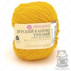 Пряжа Детский каприз тёплый Пехорка, цвет № 12 (Желток)