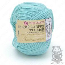 Пряжа Детский каприз тёплый Пехорка, цвет № 222 (Голубая бирюза)