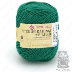 Пряжа Детский каприз тёплый Пехорка, цвет № 511 (Зелёнка)