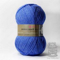 Пряжа Пехорка Джинсовый ряд, цвет № 814М (Синий меланж)