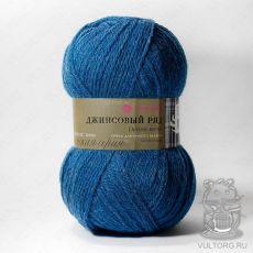 Пряжа Пехорка Джинсовый ряд, цвет № 871М (Голубой меланж)