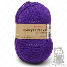 Пряжа Конкурентная, Пехорка, цвет № 78 (Фиолетовый)