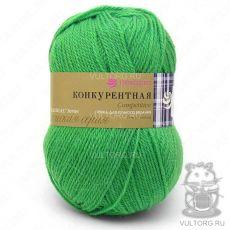 Пряжа Конкурентная, Пехорка, цвет № 192 (Зелень)