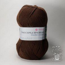 Пряжа Пехорка Кроссбред Бразилии, цвет № 17 (Шоколад)