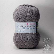 Пряжа Пехорка Кроссбред Бразилии, цвет № 393 (Светлый маренго)