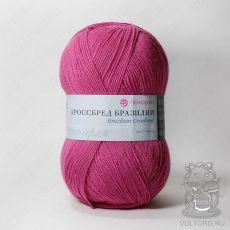 Пряжа Пехорка Кроссбред Бразилии, цвет № 439 (Малиновый)
